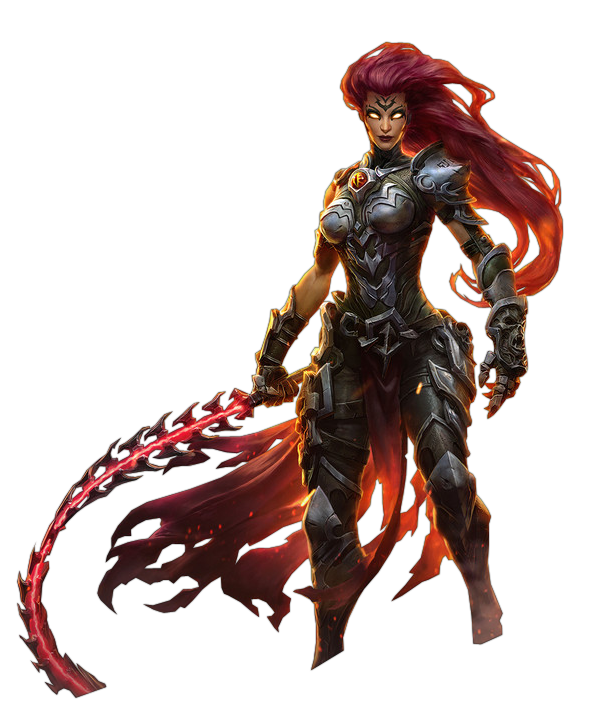 Darksiders III - Fury Render by Crussong on DeviantArt