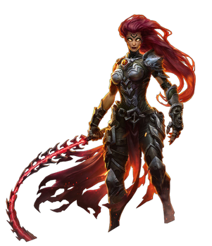 Darksiders III - Fury Render by Crussong