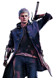 Devil May Cry 5 - Nero Render by Crussong