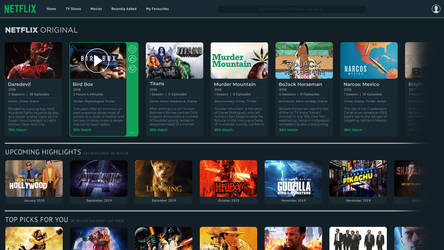 Netflix - Design Concept 2019 by Crussong