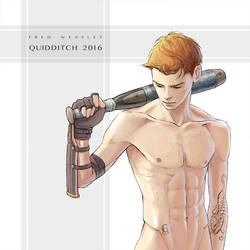 Quality Quidditch Supplies: Beater's bat by CappuccinoCloud
