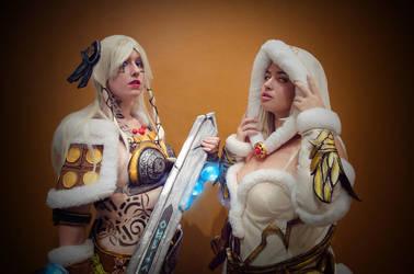 Freya and Hel by SSG21