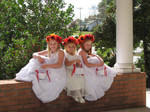 Flower Girls Stock 4 by Missy-gStock