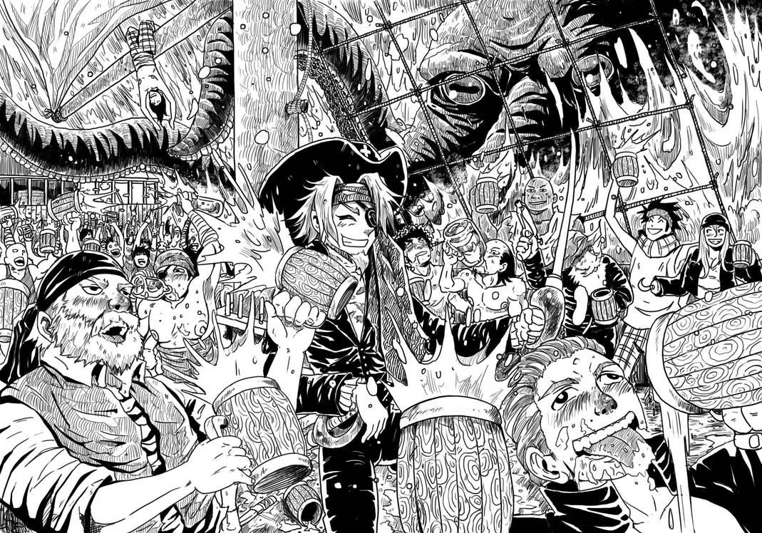 Pirates on the Storm by kajipato