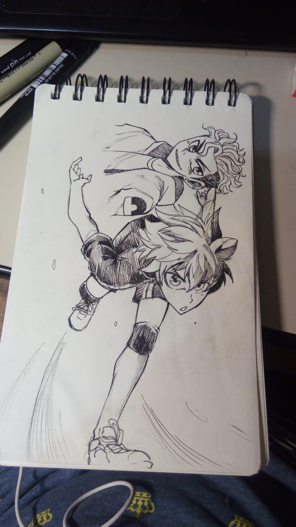 Hinata Shouyou From Haikyuu by kajipato