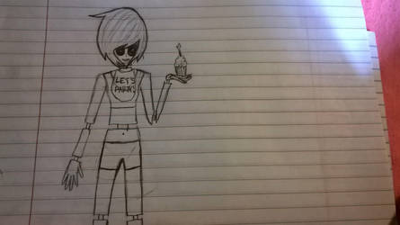 Human Toy Chica doodle by Bella-the-emo-kid
