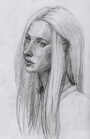 self-portrait by Konnova