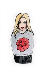 fashion sketch67 by Konnova