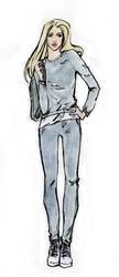 fashion sketch54 by Konnova