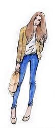 fashion sketch59 by Konnova