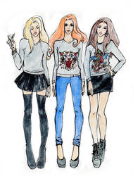 fashion sketch53 by Konnova