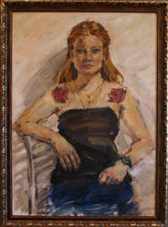 portrait 76 by Konnova