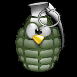 Tux grenade by k-net