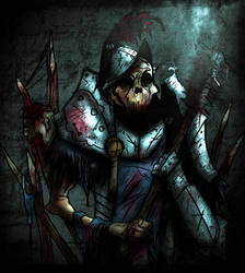 Withering Knight by ItalianRecluse