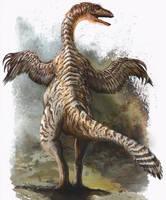 Alxasaurus elesitaiensis by cheungchungtat