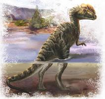 Dilophosaurus sinensis by cheungchungtat