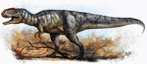 Yangchuanosaurus shangyouensis by cheungchungtat