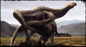 CarcharodontosaurusVS.Paraliti by cheungchungtat