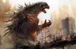 Godzilla-01 by cheungchungtat