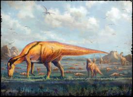 Maiasaura peeblesorum by cheungchungtat