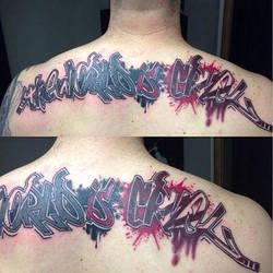 Hammersmithtattoo custom tattoo london Ruslan  by HammersmithTattoo