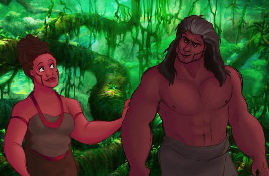 Tarzan: Humanized! (Pt.2) by s0alaina