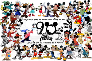 90 Years of Mickey by Superfloxes
