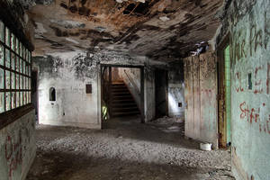Charcoal State Hospital I by baleze