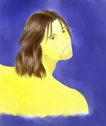 Blue Faramir by moonycakes