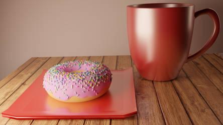 Donut Scene 2.0: Filmic Log Encoding @7680x4320 by acharluk