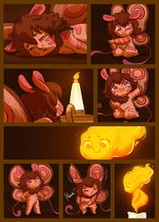 Moth and the Flame 3 by StressedJenny