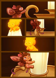 Moth and the Flame 4 by StressedJenny