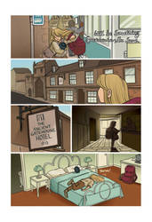 Mias and Elle Prologue: Page 03 by StressedJenny
