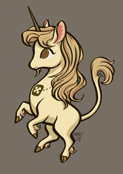 Heraldry: Unicorn by StressedJenny