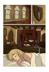Mias and Elle Chapter3 pg01 by StressedJenny