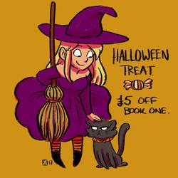 Halloween Treat. by StressedJenny