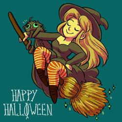 Happy Halloween 2017 by StressedJenny