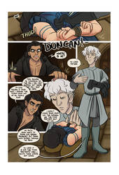 Mias and Elle Chapter 5 pg38 by StressedJenny
