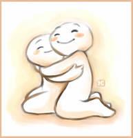 Hug by StressedJenny