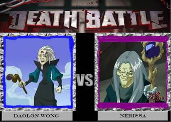 Death Battle: Daolon Wong vs Nerissa by OlmoJV