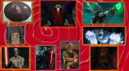 Favorite villains of OlmoJV 2 by OlmoJV