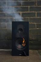 Speaker Destruction Stock 1 by chameleonkid