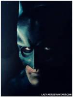 Batman painting by LAZY-ART