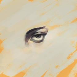 Eye painting by ksop