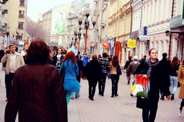 Arbat street by CrazyDD