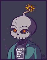 Skele Man by Skelebomb