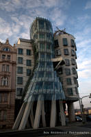 The Dancing House of Prague by wooder