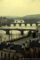 The Bridges of Prague by wooder