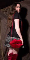 Velvet Lip Bag by Kitsch-Craft