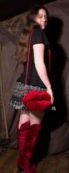 Velvet Lip Bag by Kitsch-Craft